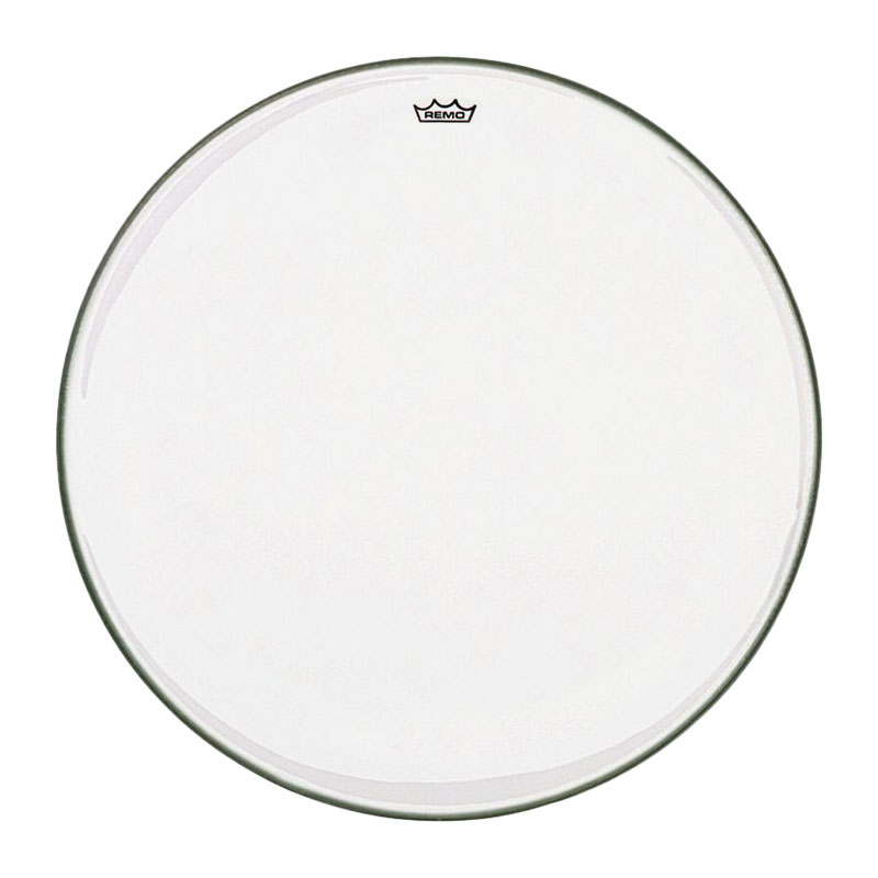 "Remo 34"" TC-Series (Custom) Clear Timpani Head with Low-Profile Steel Insert Ring"