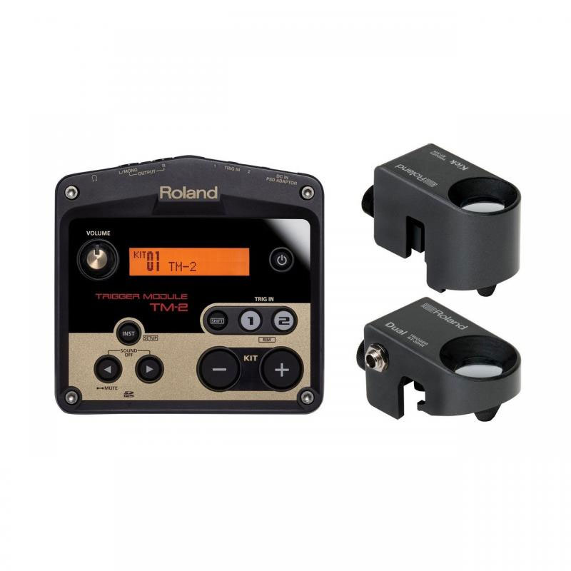 Roland Hybrid Trigger Percussion Pack (TM-2 Sound Module, Triggers, & Cables)