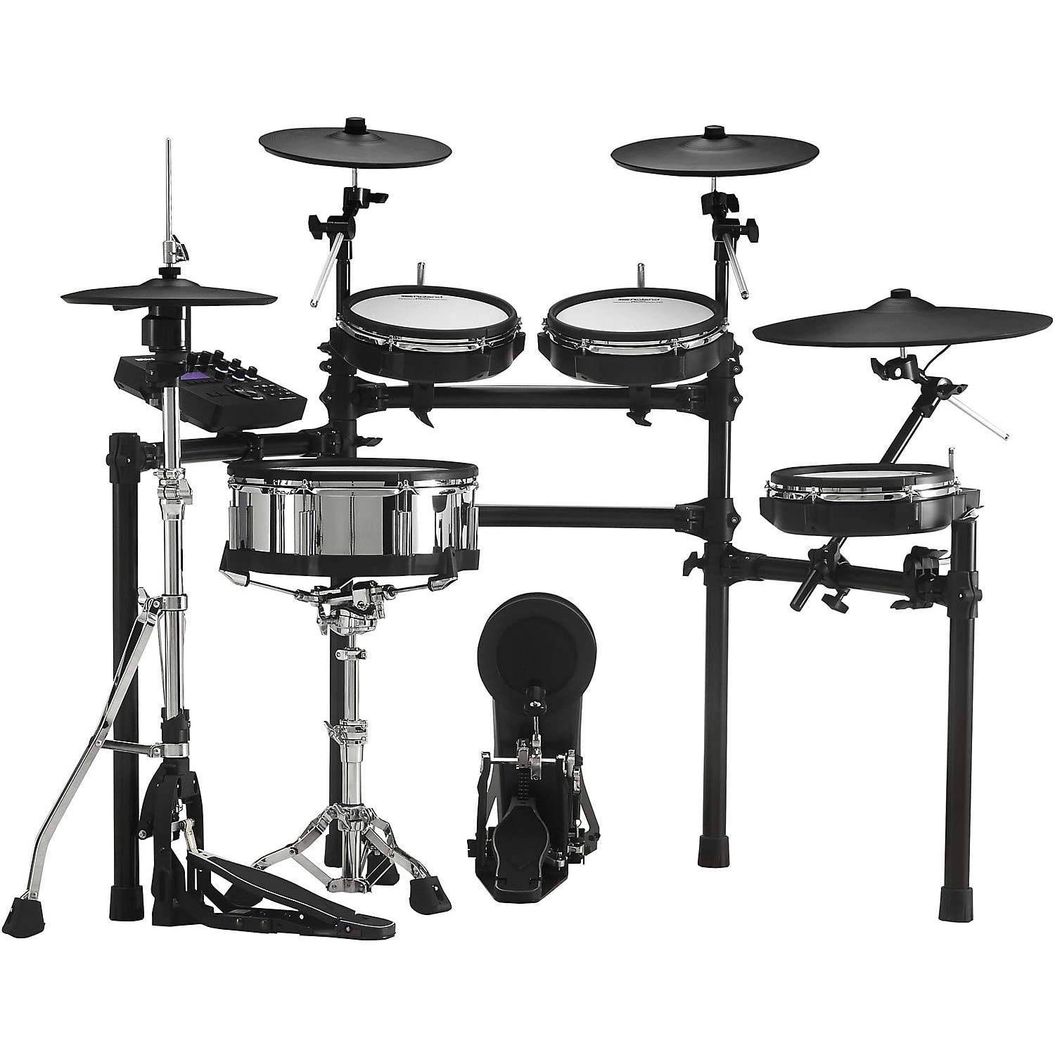 Roland V-Drums Electronic Drum Set (TD-27 Module, PD-140DS, CY-18DR, PDX-100(3), KD-10, CY12C, CY13R, VH-10, MDS)