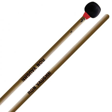 Ron Vaughn High Density Cymbal Mallets with Long Rattan Handles