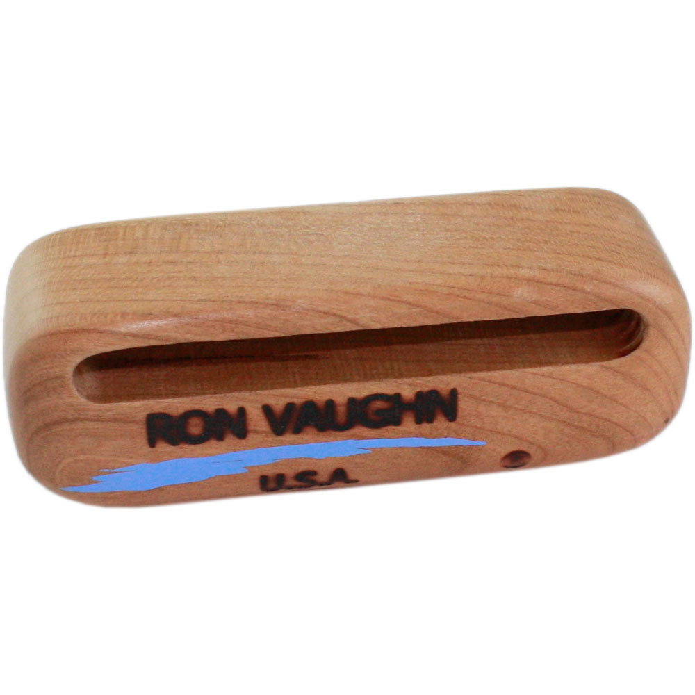 "Ron Vaughn W-1 4.75"" North American Black Cherry Piccolo Wood Block"