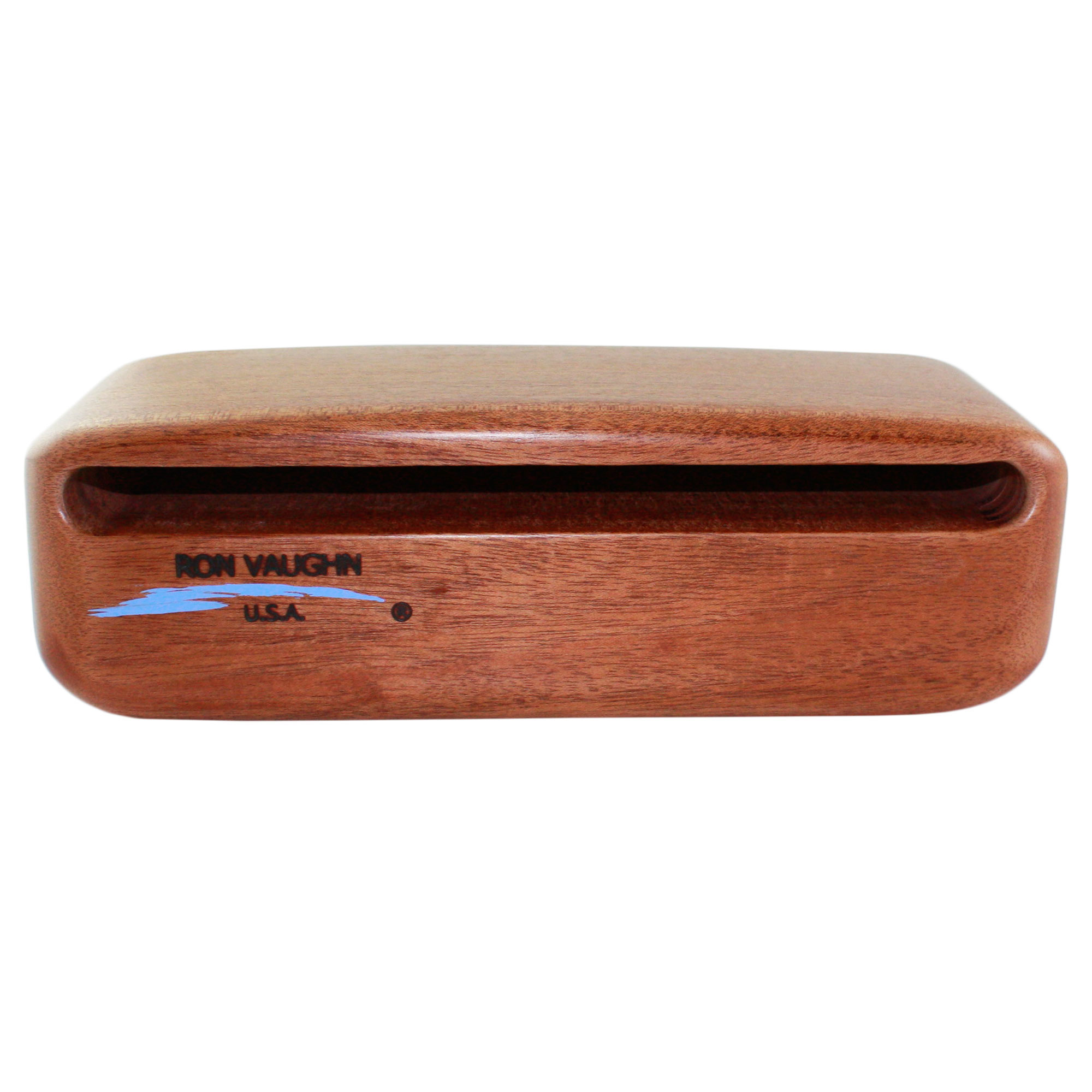 "Ron Vaughn W-6 12.375"" African Mahogany Wood Block"