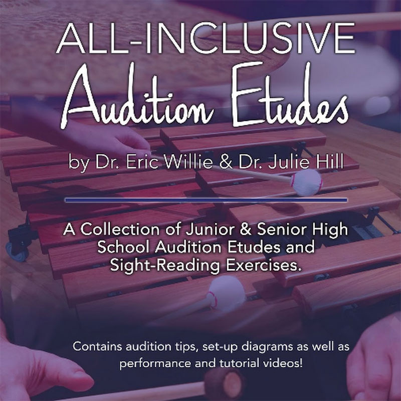 All-Inclusive Audition Etudes by Eric Willie and Julie Hill