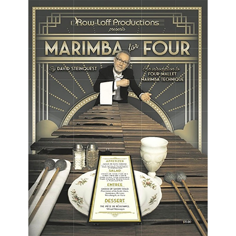 Marimba for Four by David Steinquest