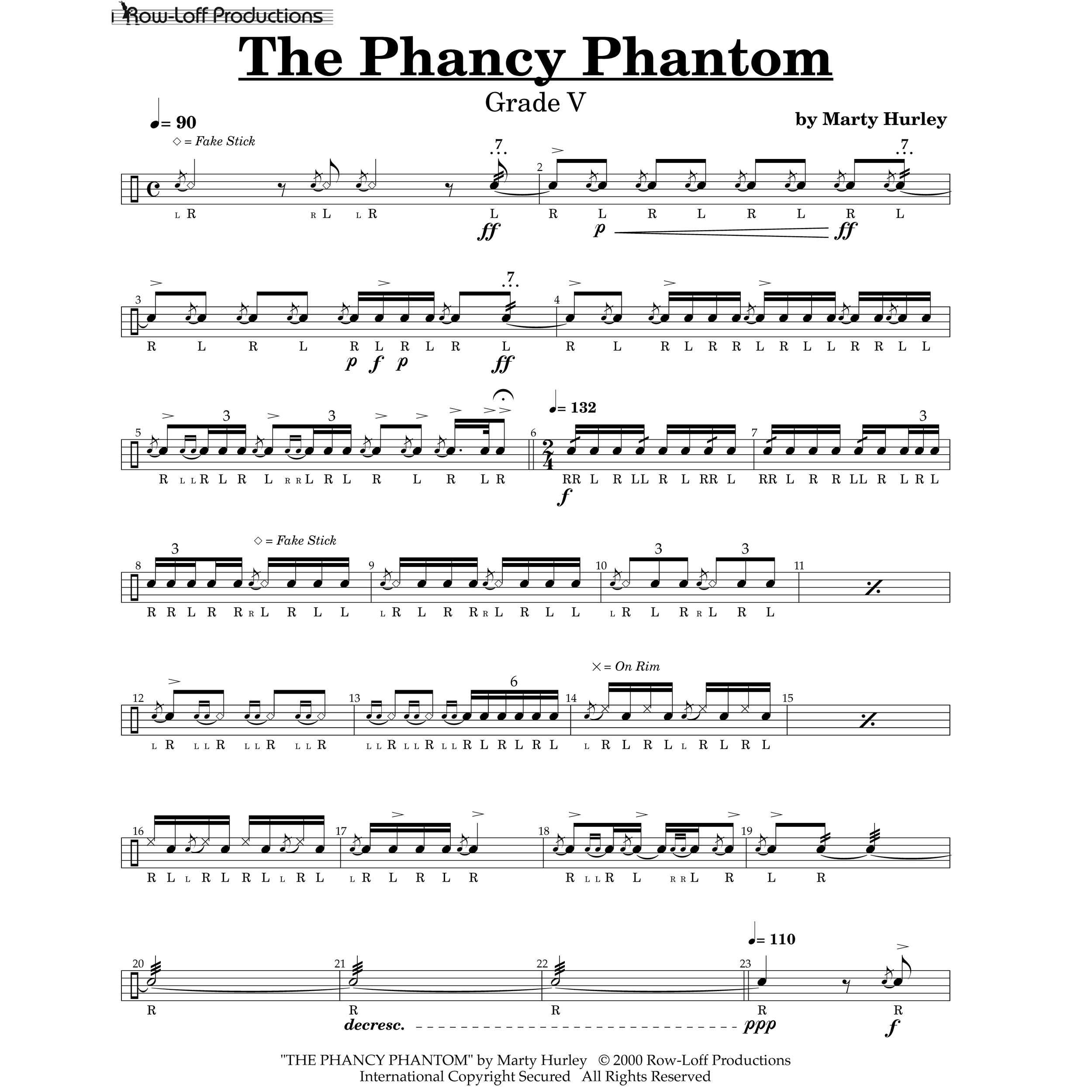 The Phancy Phantom by Marty Hurley