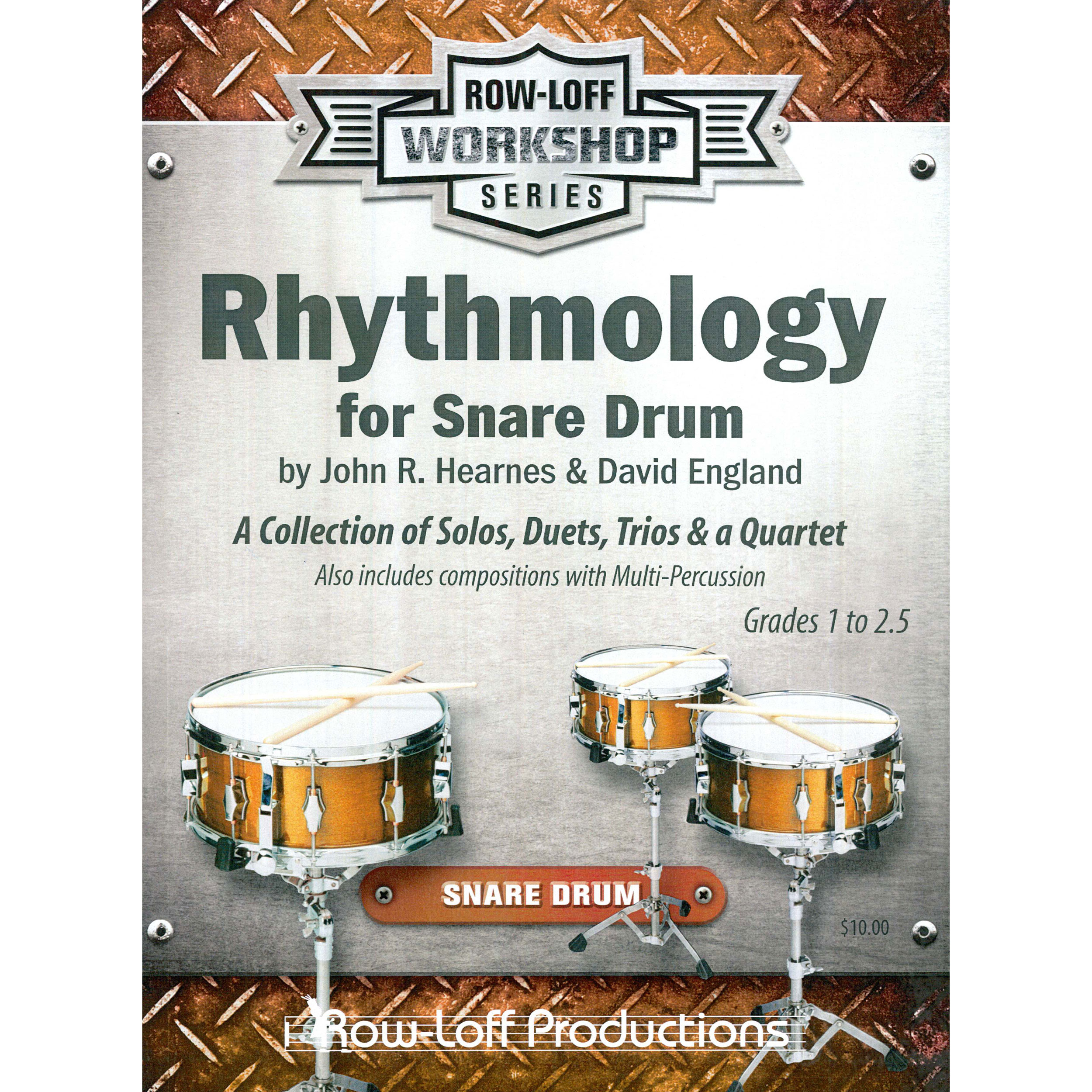 Rhythmology for Snare Drum by John Hearnes and David England