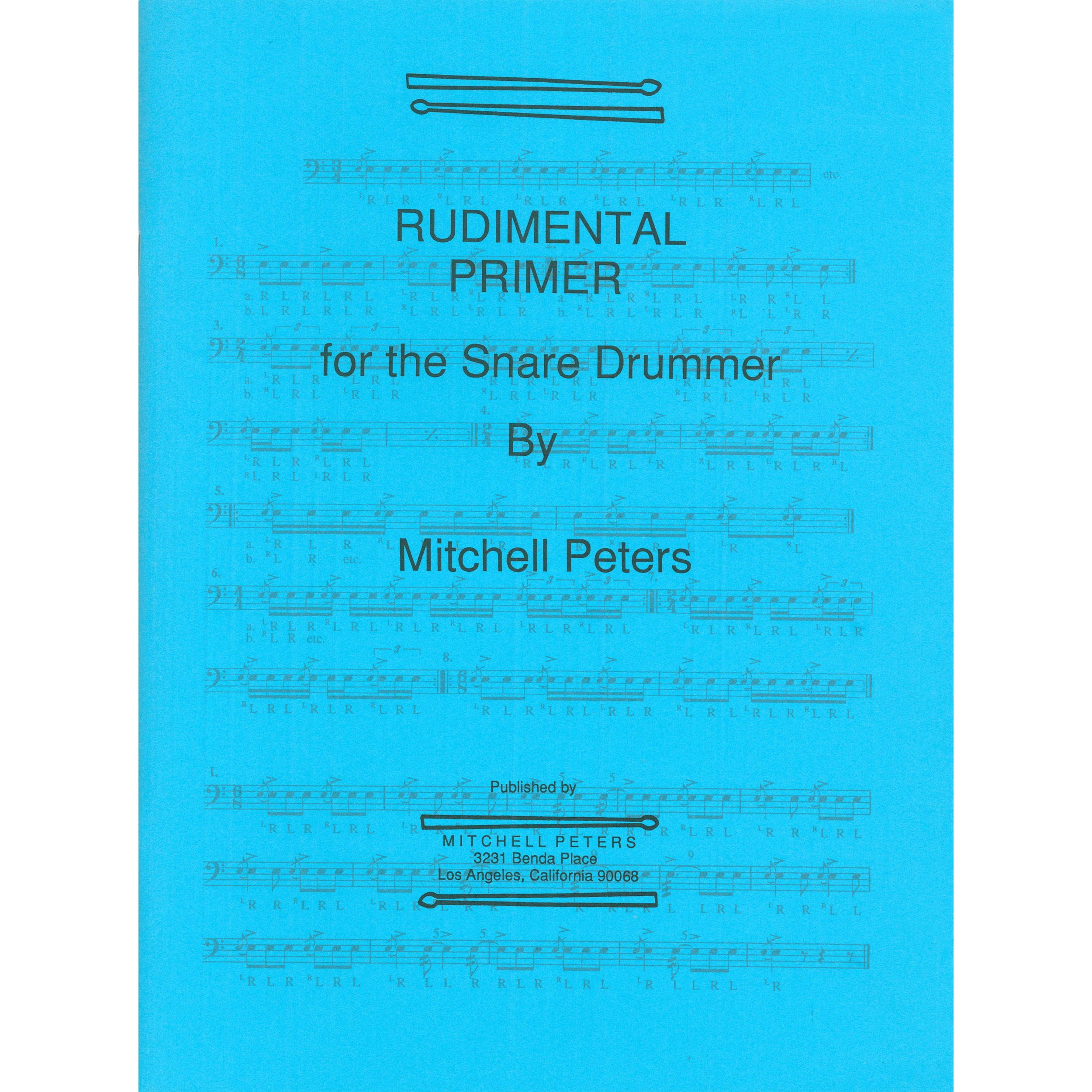 Rudimental Primer for Snare by Mitchell Peters