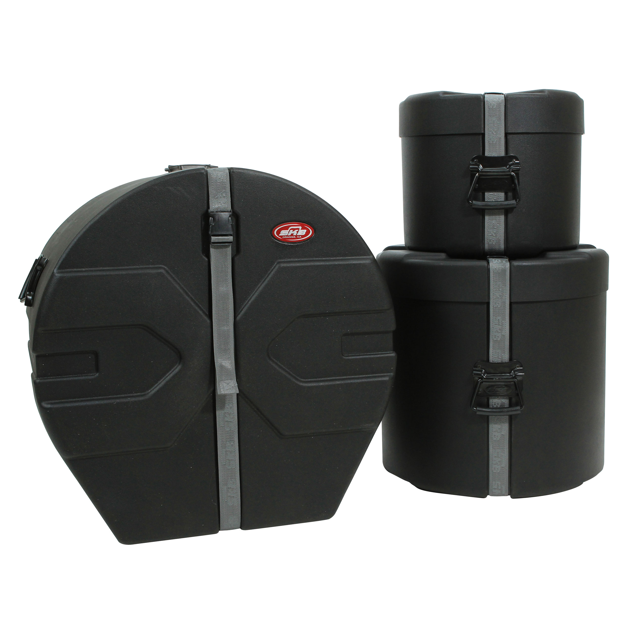 "SKB 12-16-22"" Padded Drum Set Case Bundle"