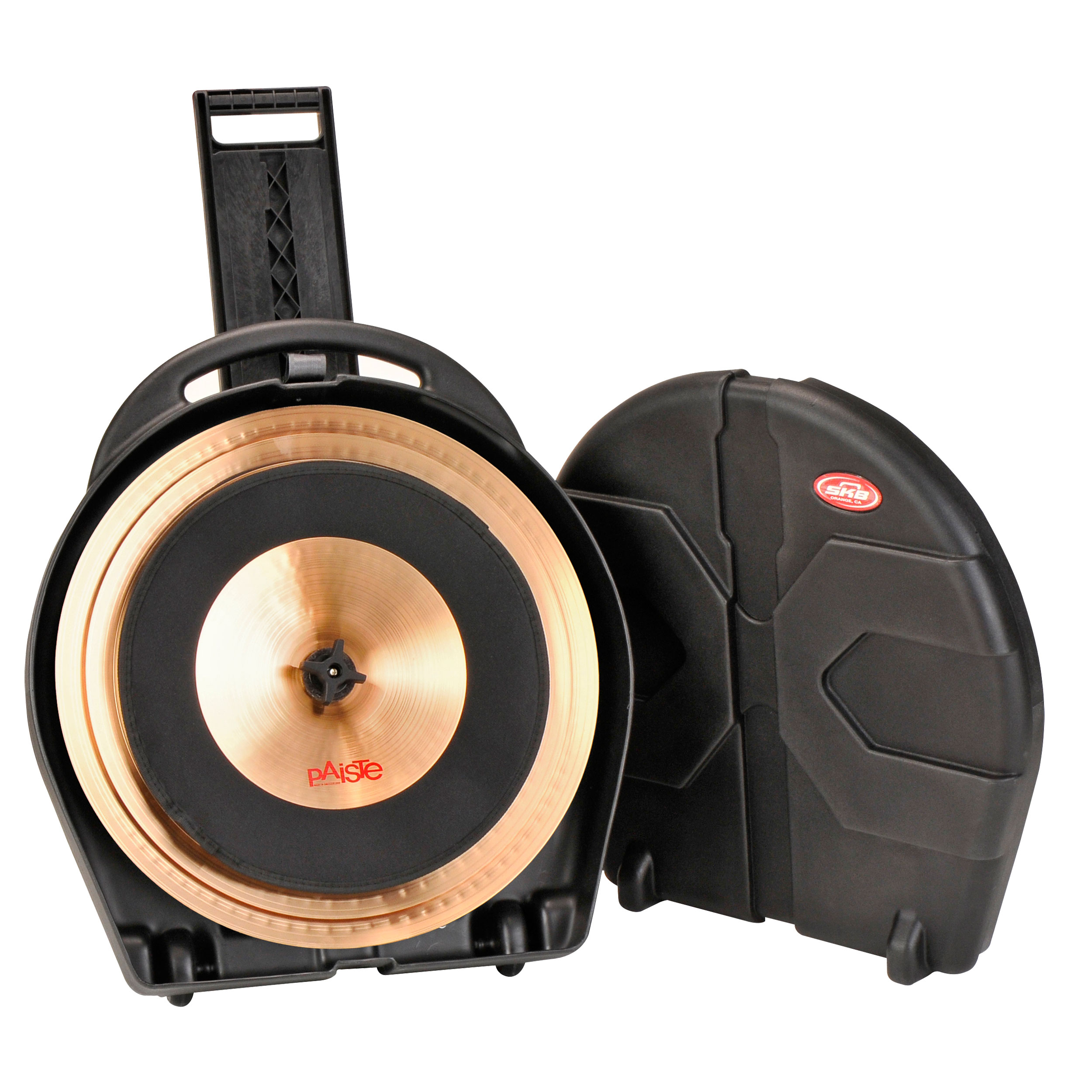 """SKB 22"""" Cymbal Vault with Pull-Along on Wheels"""