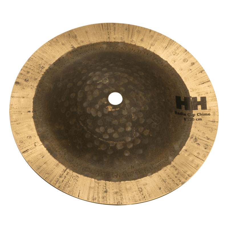 """Sabian 8"""" Radia Cup Chime with Natural Finish"""