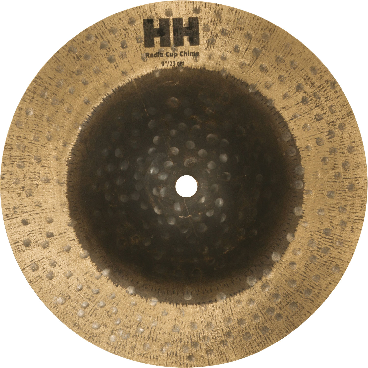 """Sabian 9"""" Radia Cup Chime with Natural Finish"""