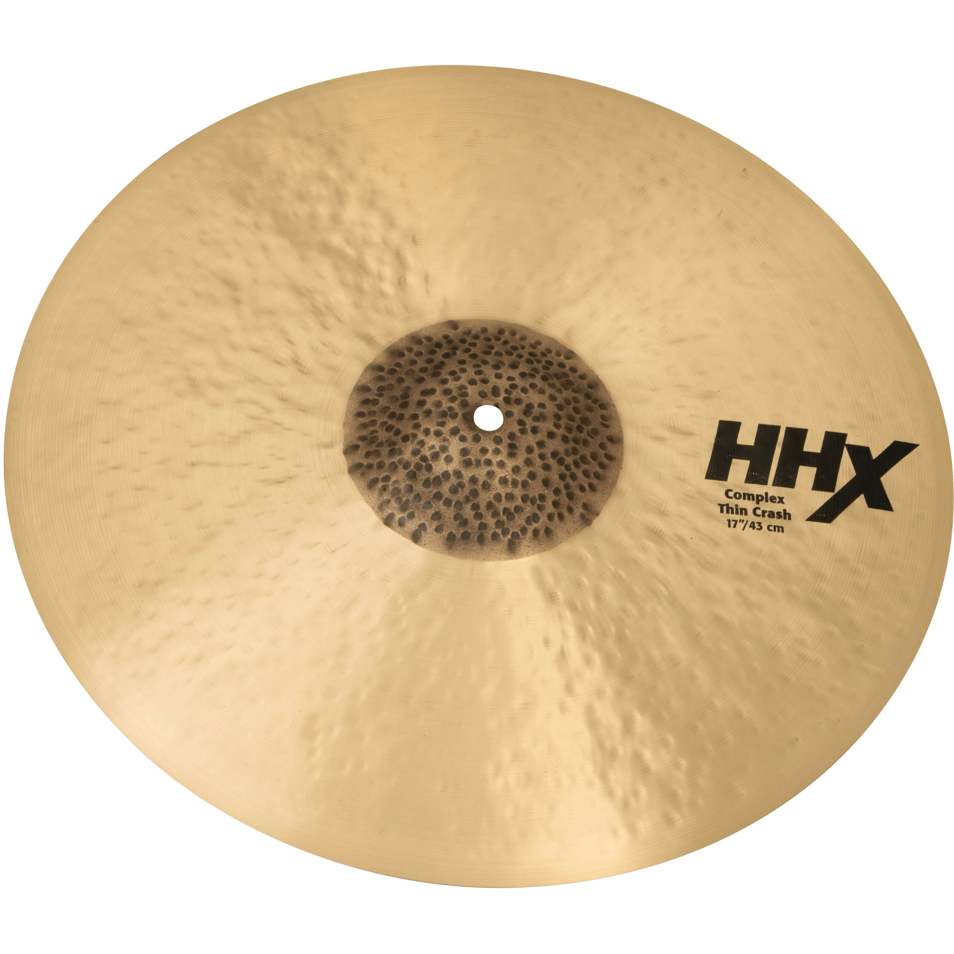 "Sabian 17"" HHX Complex Thin Crash Cymbal"