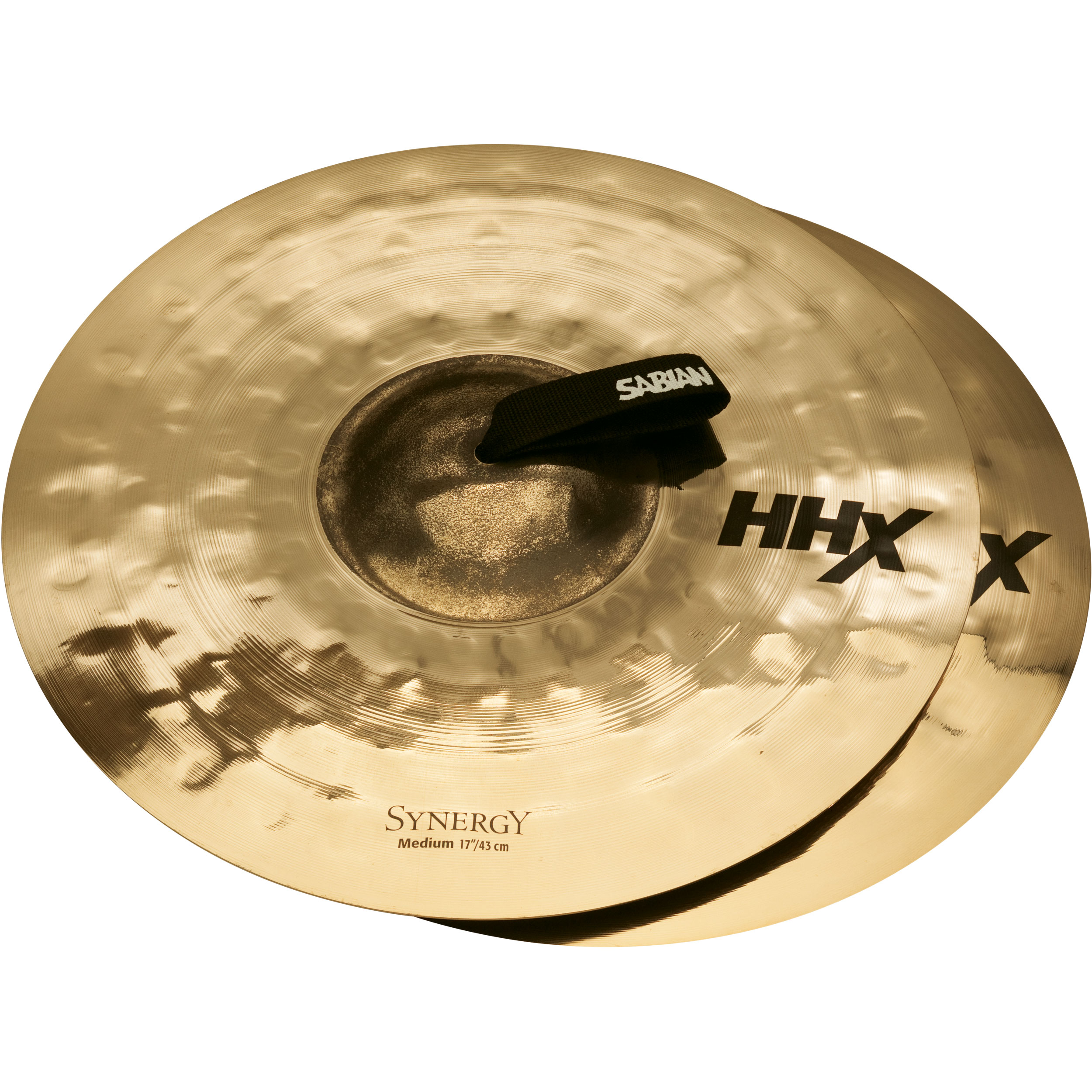 "Sabian 17"" HHX Synergy Medium Crash Cymbal Pair"