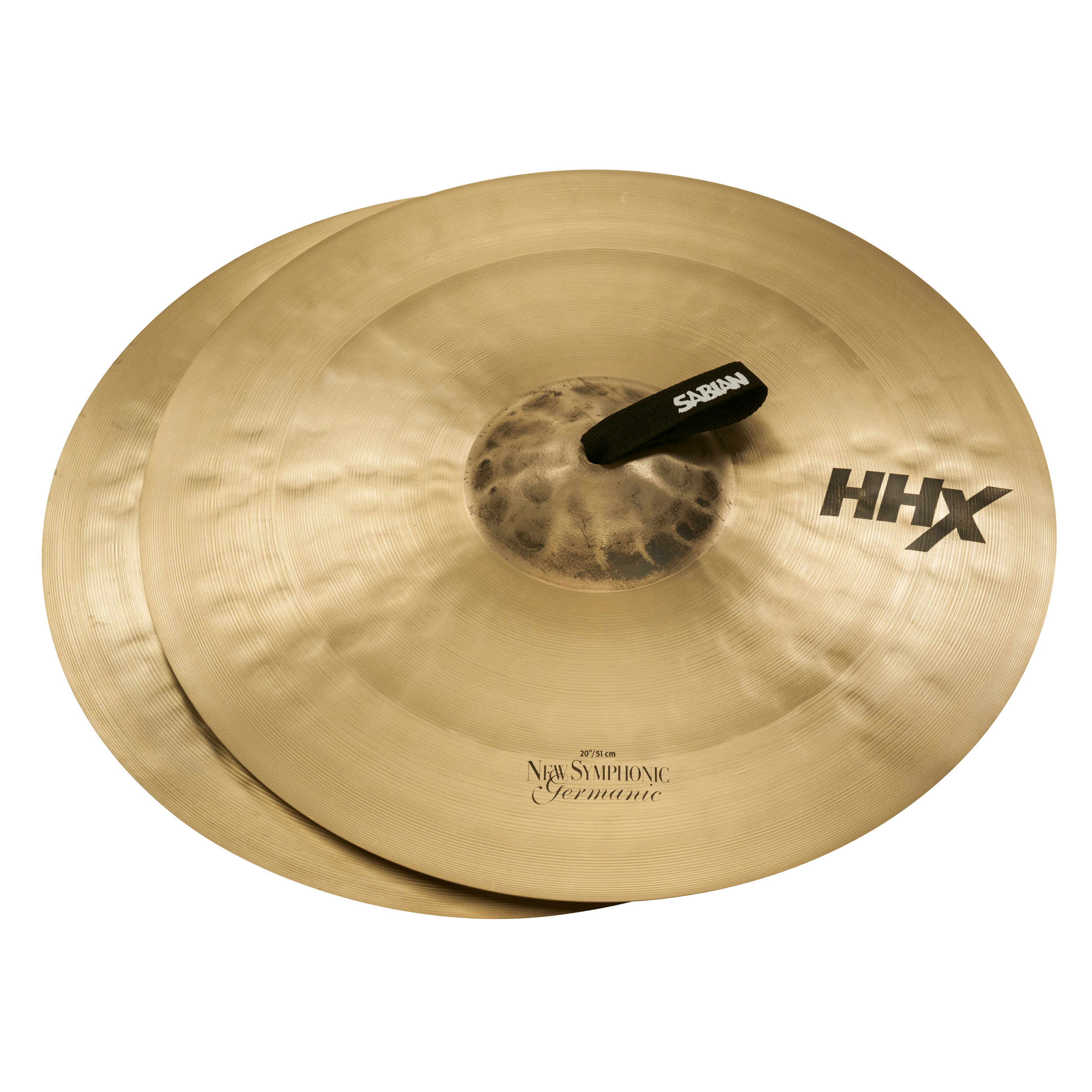 "Sabian 20"" HHX New Symphonic Germanic Crash Cymbal Pair"