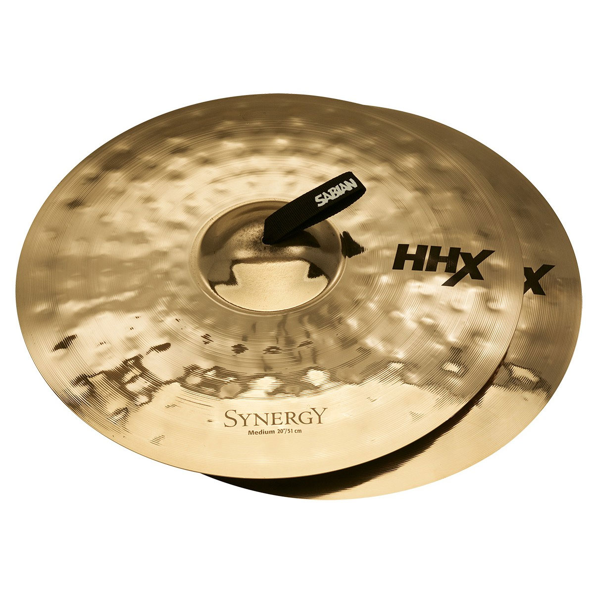 "Sabian 20"" HHX Synergy Medium Crash Cymbal Pair"