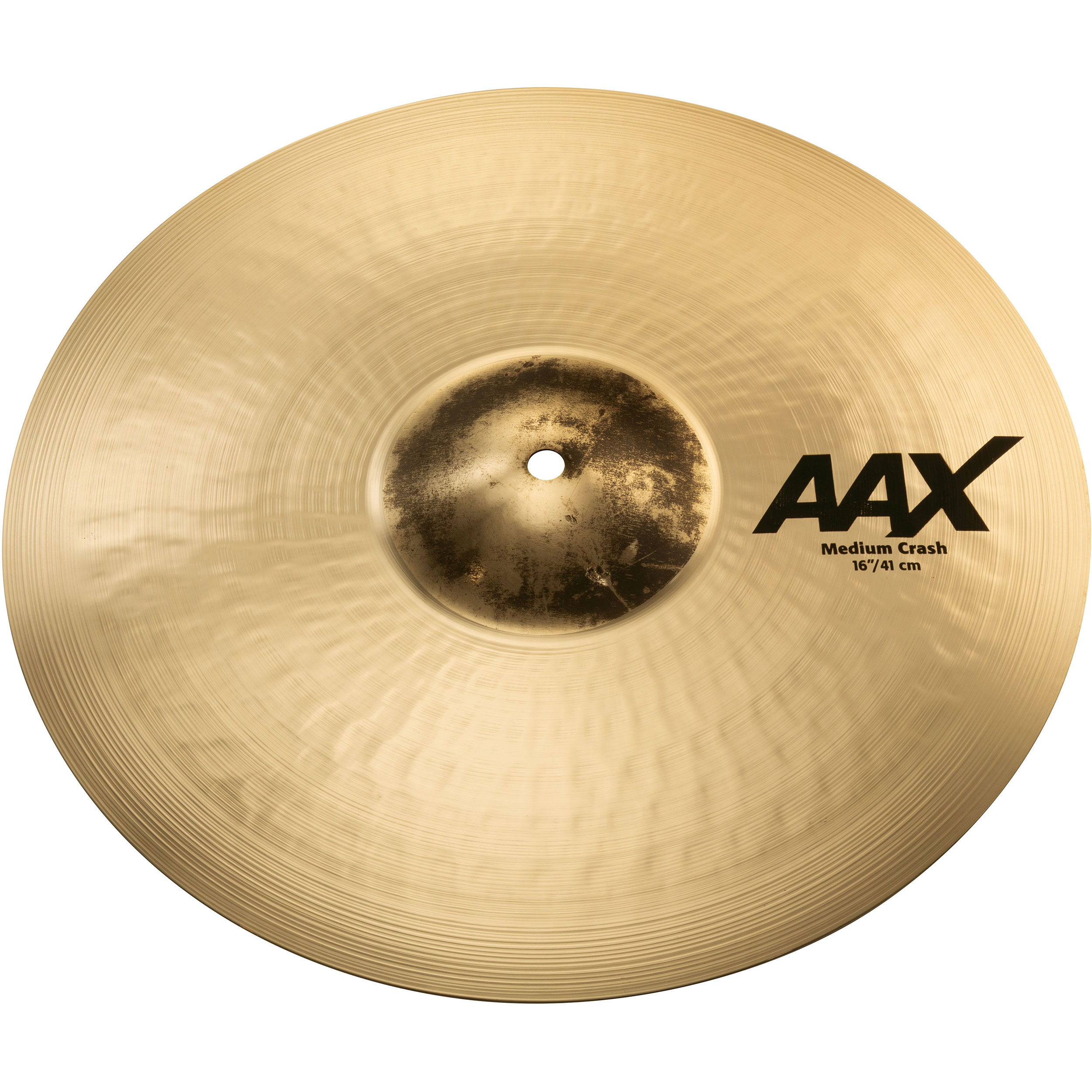 "Sabian 16"" AAX Medium Crash Cymbal"