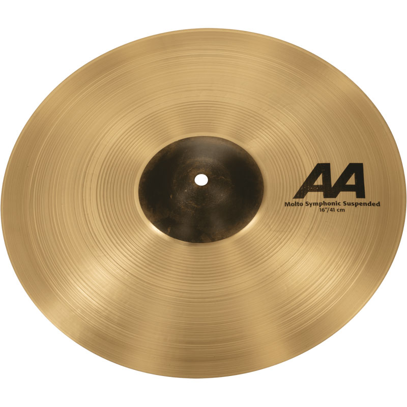 """Sabian 16"""" AA Molto Symphonic Suspended Cymbal"""