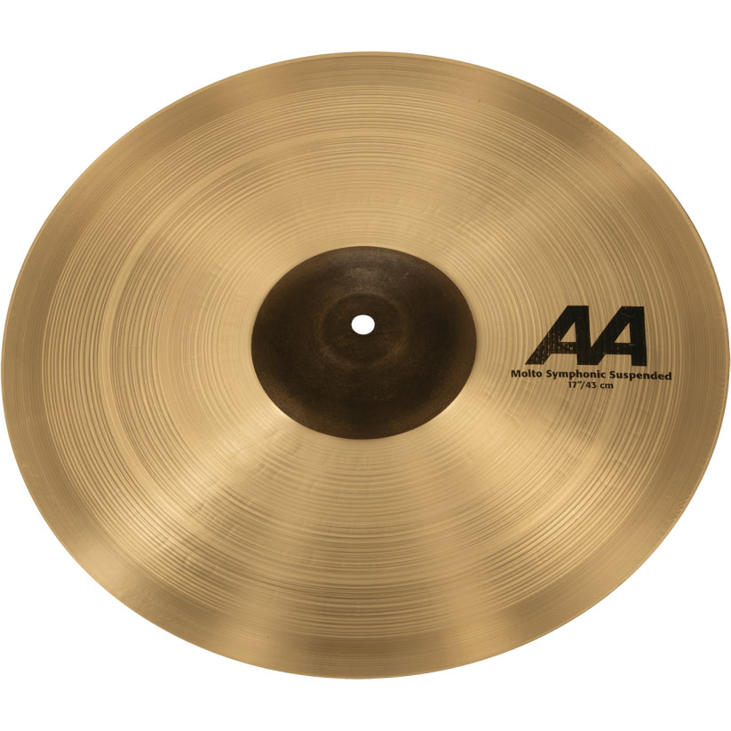 """Sabian 17"""" AA Molto Symphonic Suspended Cymbal"""