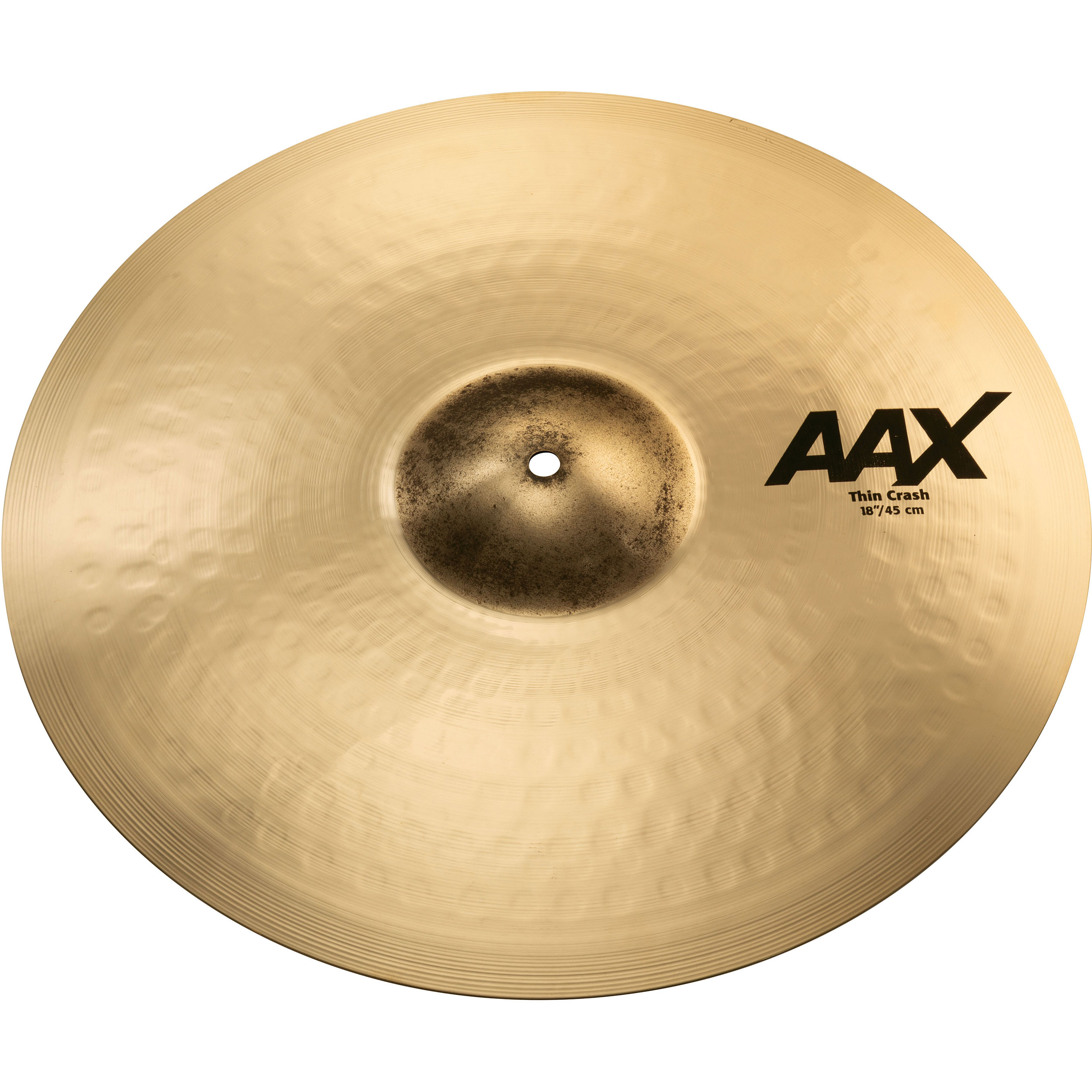 "Sabian 18"" AAX Thin Crash Cymbal"