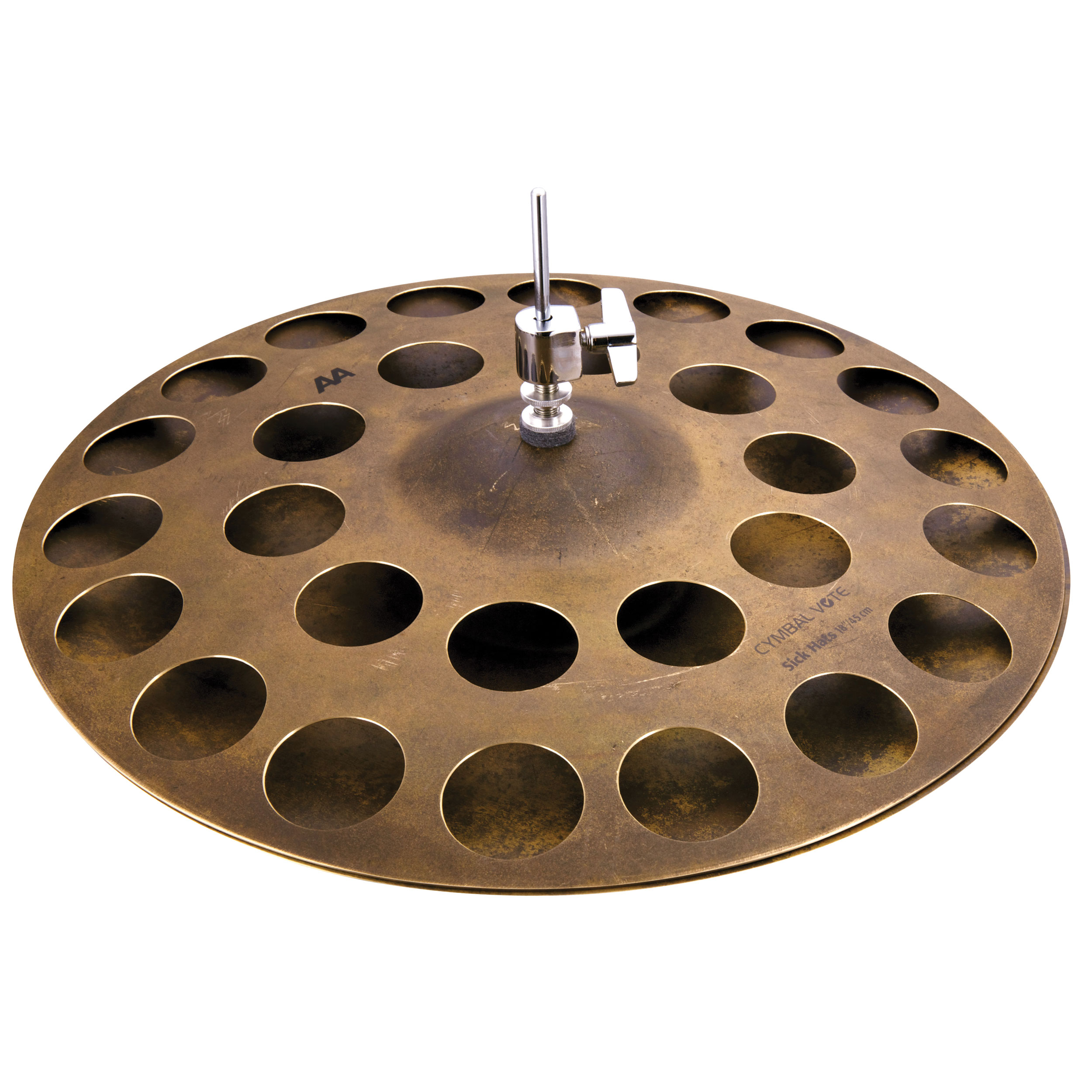"Sabian 18"" Big and Ugly AA Sick Hats Hi Hat Cymbals"