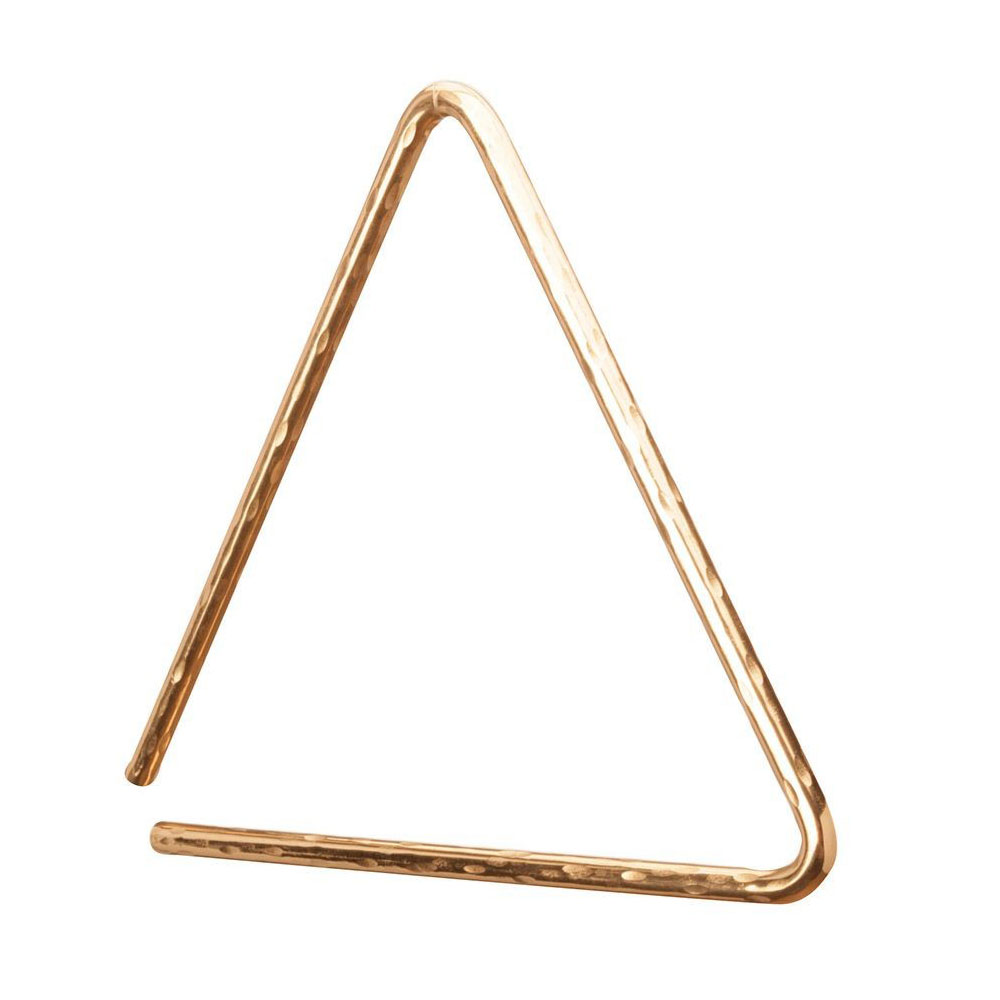 "Sabian 9"" Hand Hammered B8 Bronze Triangle"