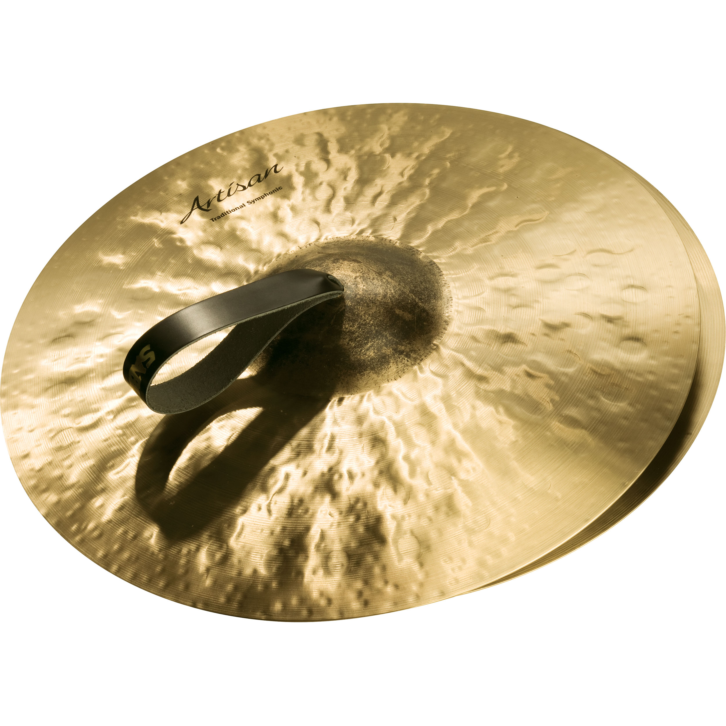 "Sabian 18"" Artisan Traditional Symphonic Medium-Heavy Crash Cymbal Pair"