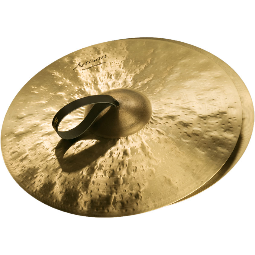 "Sabian 20"" Artisan Traditional Symphonic Medium-Heavy Crash Cymbal Pair"