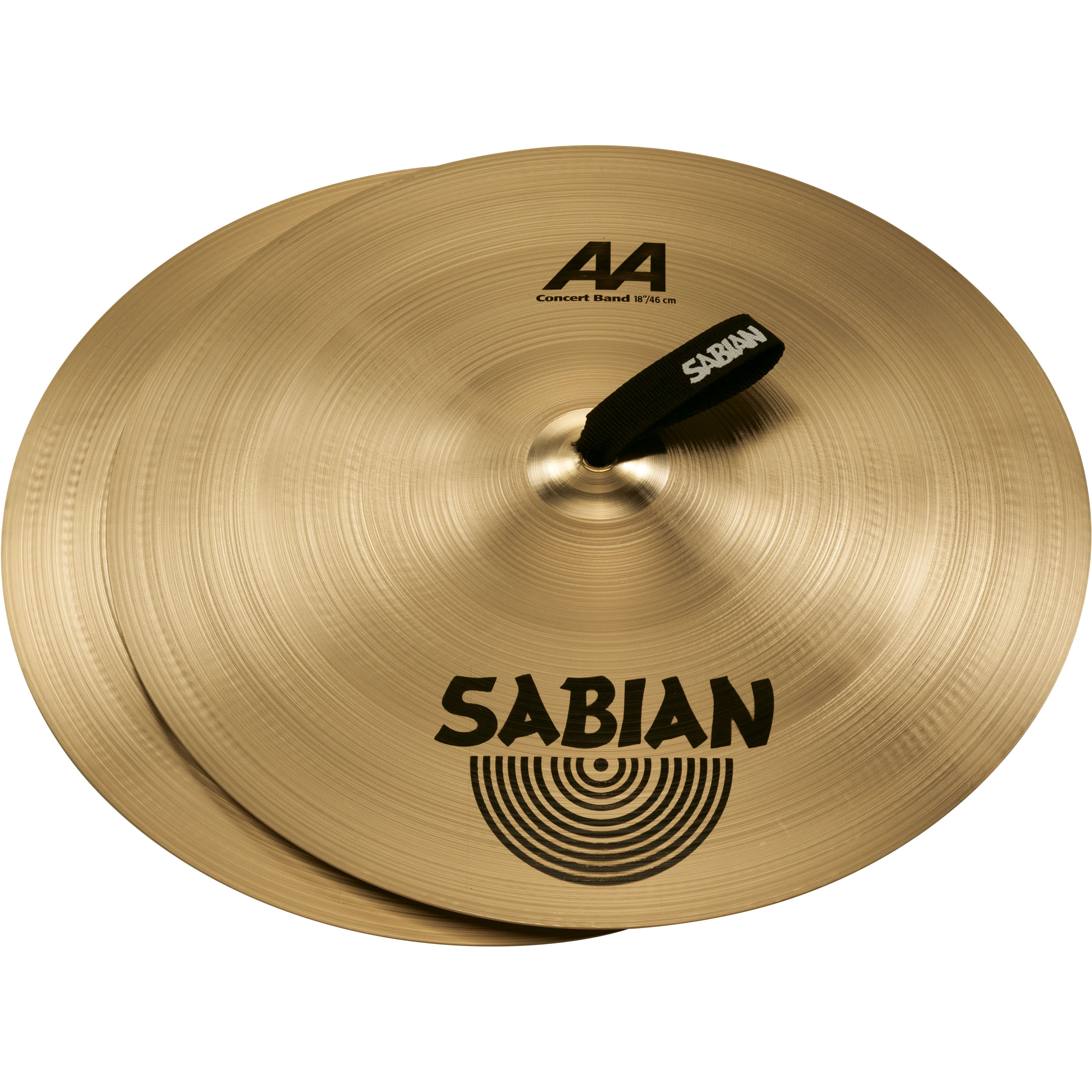 "Sabian 18"" AA Concert Band Crash Cymbal Pair"