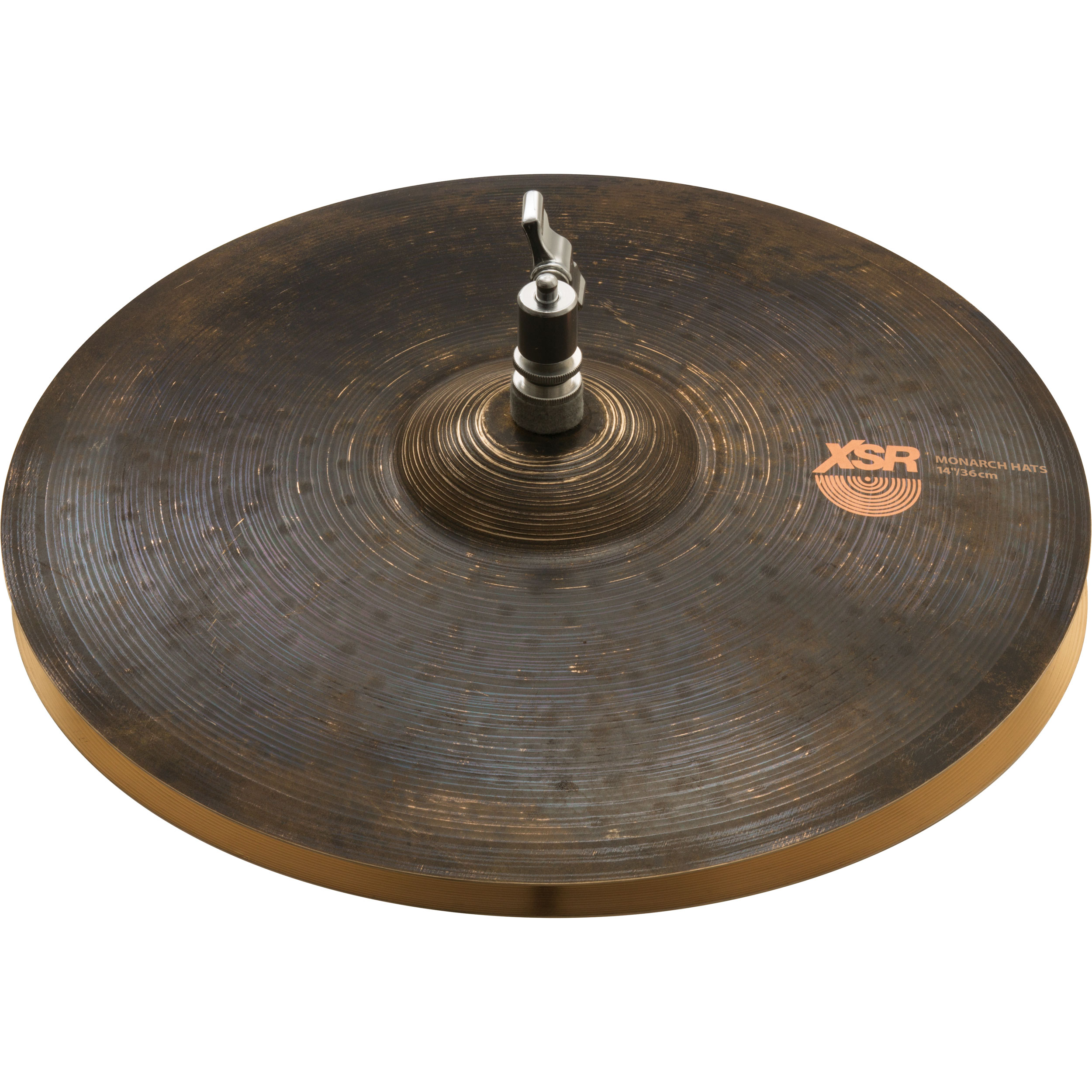 "Sabian 14"" Big and Ugly XSR Monarch Hi Hat Cymbals"