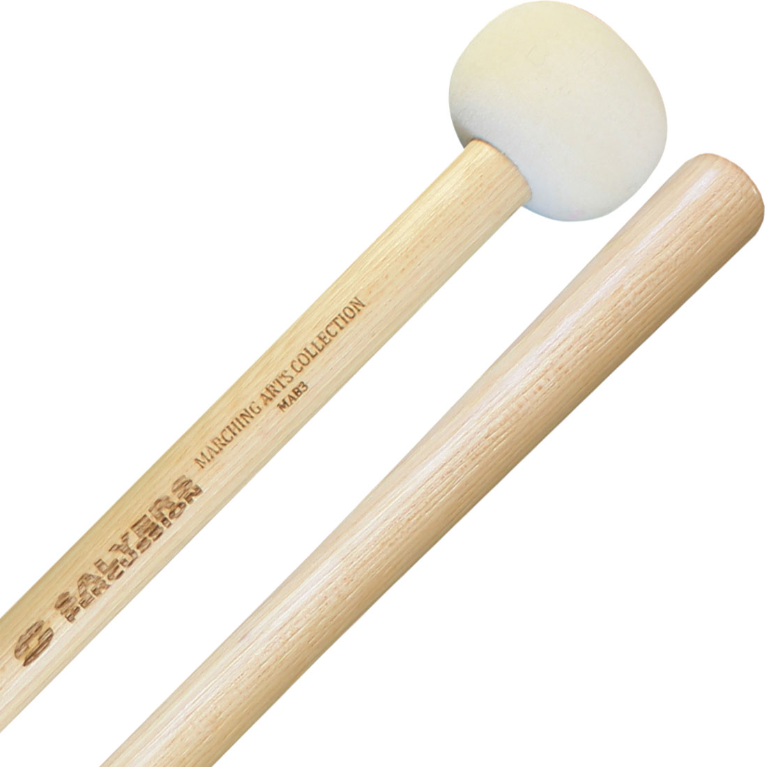 Salyers Percussion MAB3 Marching Arts Collection Medium Marching Bass Mallets