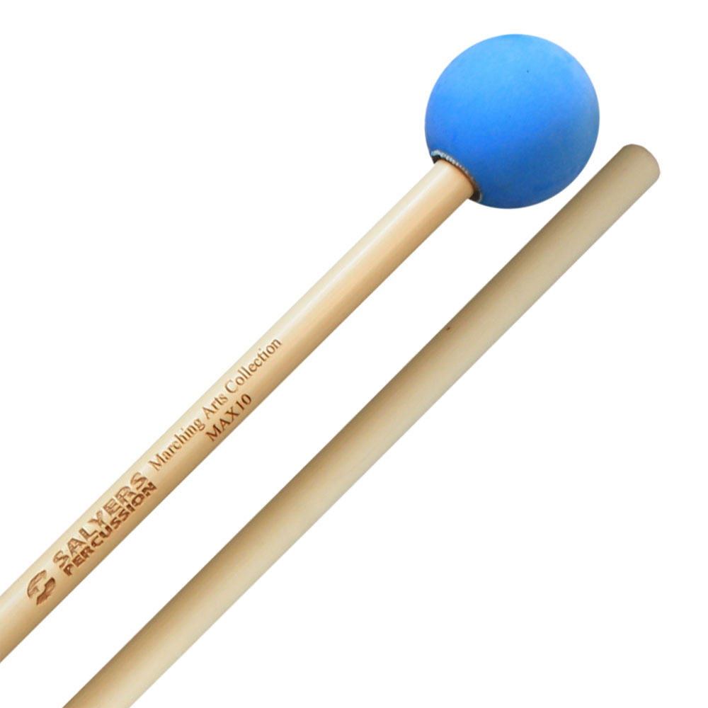 Salyers Percussion MAX10 Marching Arts Collection Hard Rubber-Like Xylophone Mallets