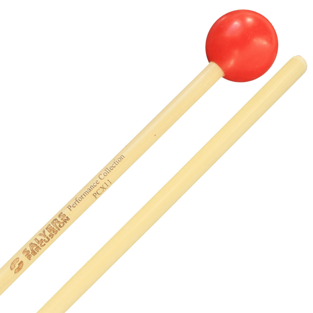 "Salyers Percussion Performance Collection 1 1/8"" Poly Ball Xylophone/Bell Mallets"