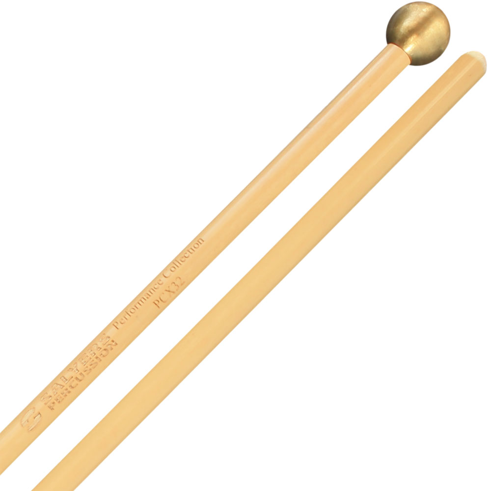 "Salyers Percussion Performance Collection 5/8"" Brass Bell Mallets"