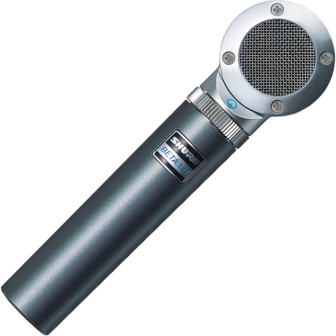 Shure BETA 181/S Ultra-Compact Side-Address Supercardioid Condenser Microphone