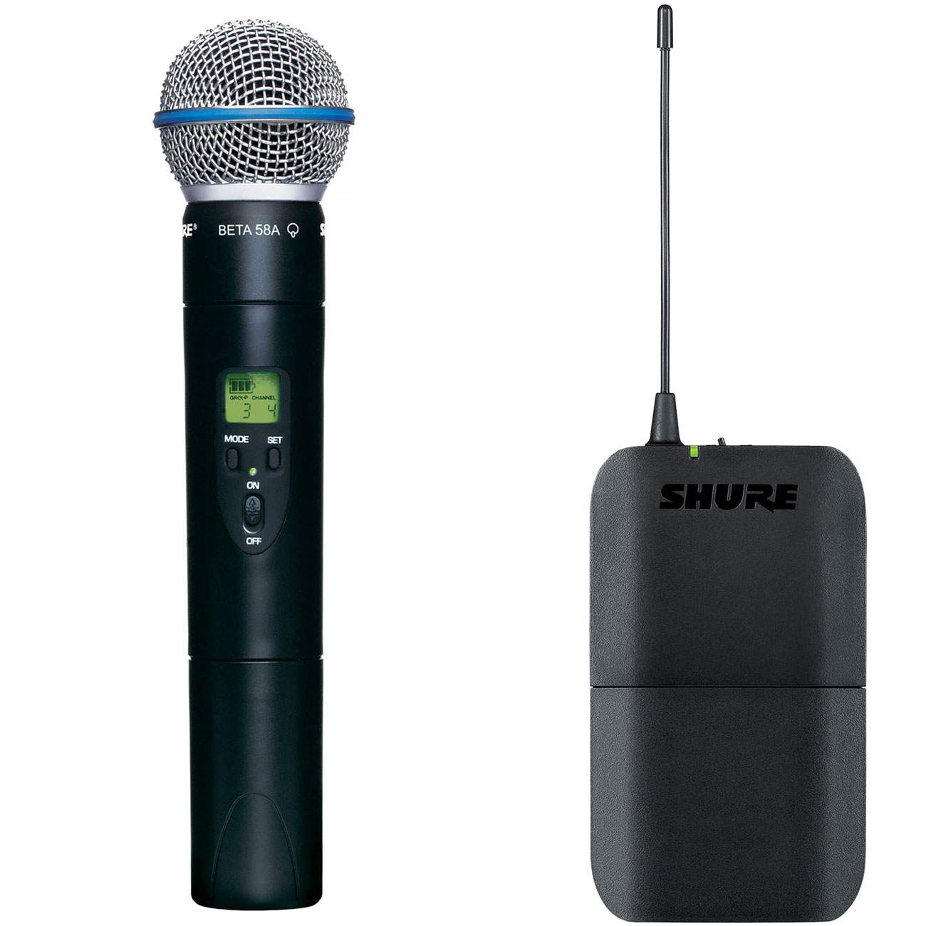 Shure BLX Handheld Transmitter with BETA58 Microphone