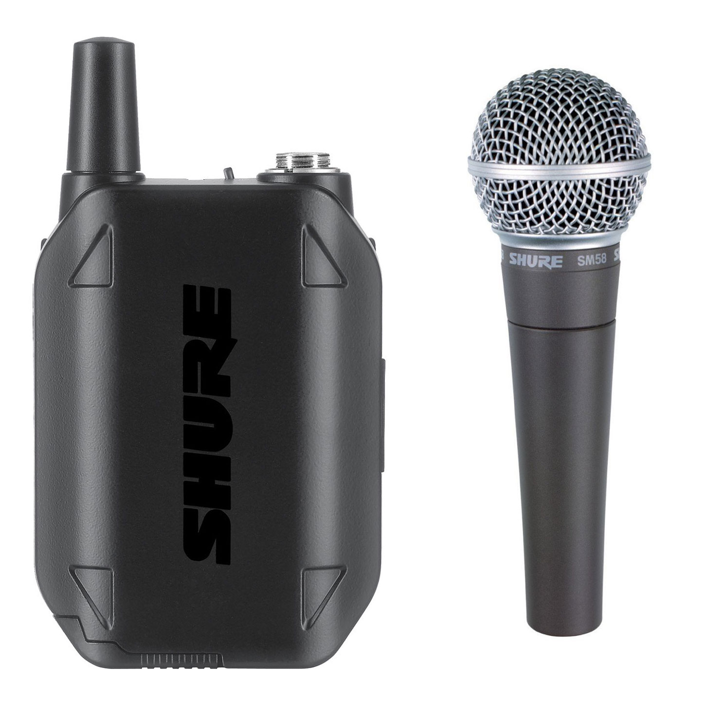 Shure GLX-D Handheld Transmitter with SM58 Microphone