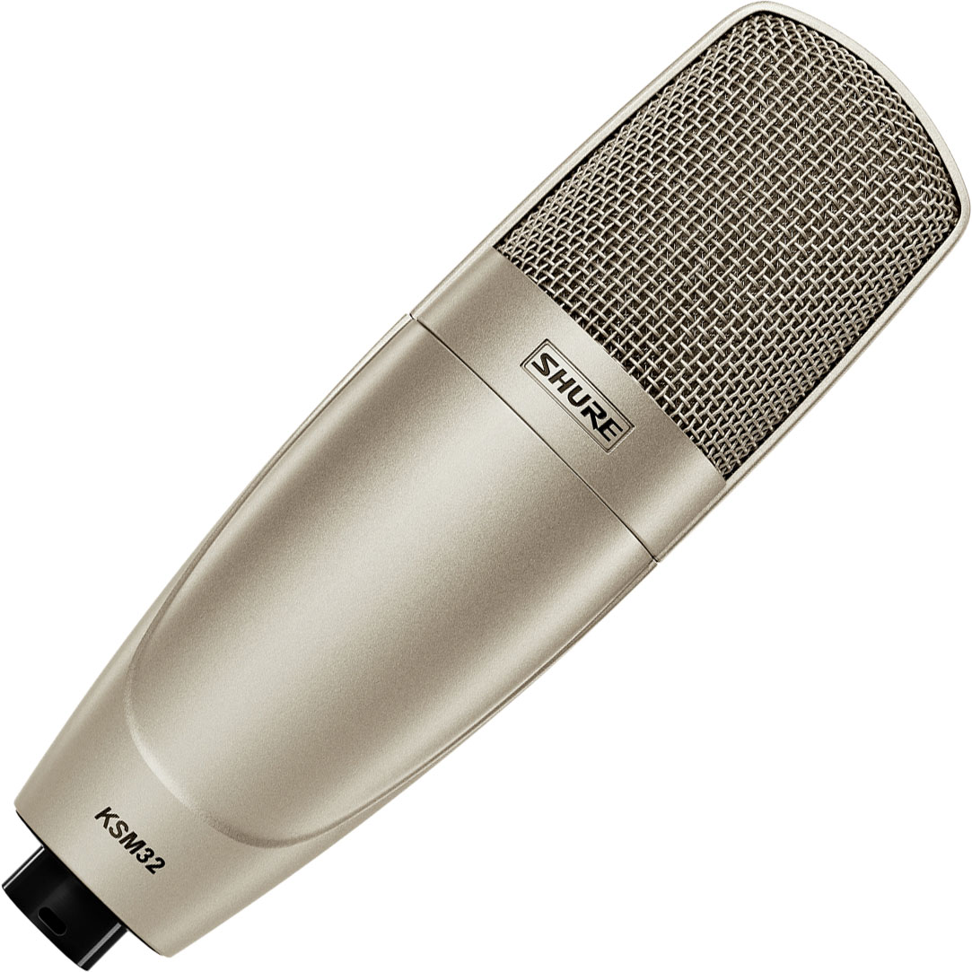 Shure KSM32/CG Embossed Single-Diaphragm Side-Address Cardioid Condenser Microphone