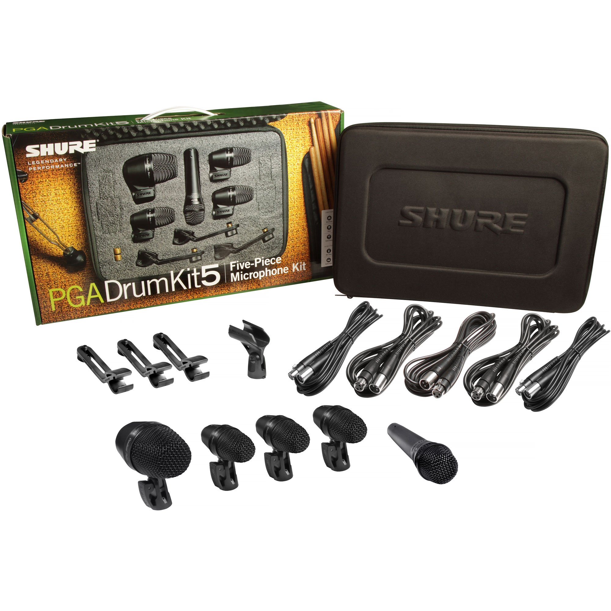 Shure 5-Piece Drum Set Microphone Kit