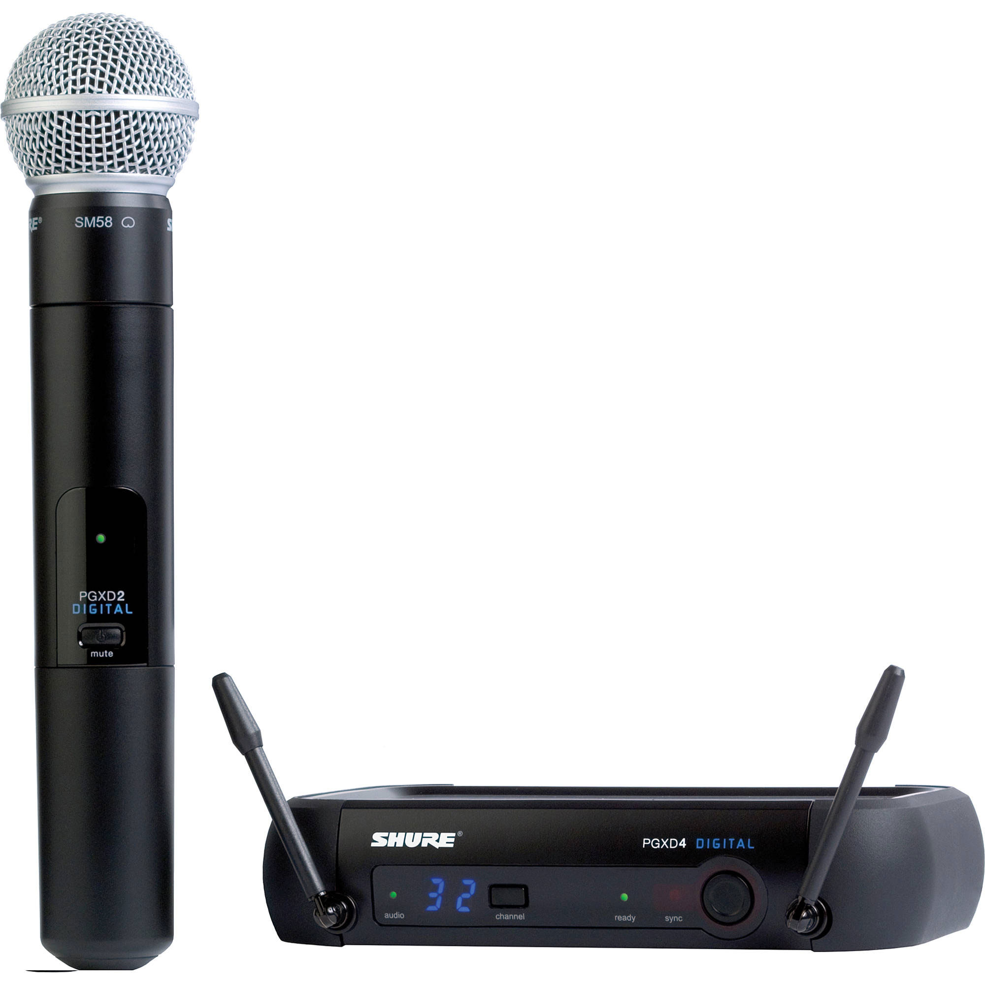 Shure PGXD24/SM58 Handheld Digital Wireless Microphone System