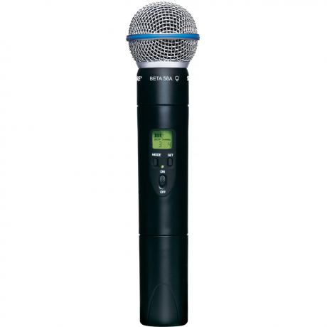 Shure QLX-D Handheld Transmitter with BETA58 Microphone