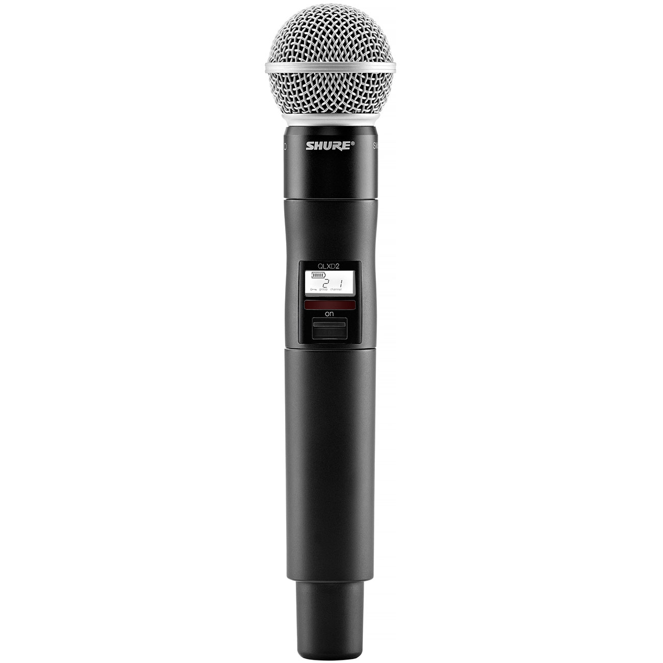 Shure QLX-D Handheld Transmitter with SM58 Microphone