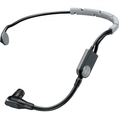 Shure Headset Cardioid Condenser Microphone with TA4F (TQG) Wireless Connector and Snap-Fit Windscreen