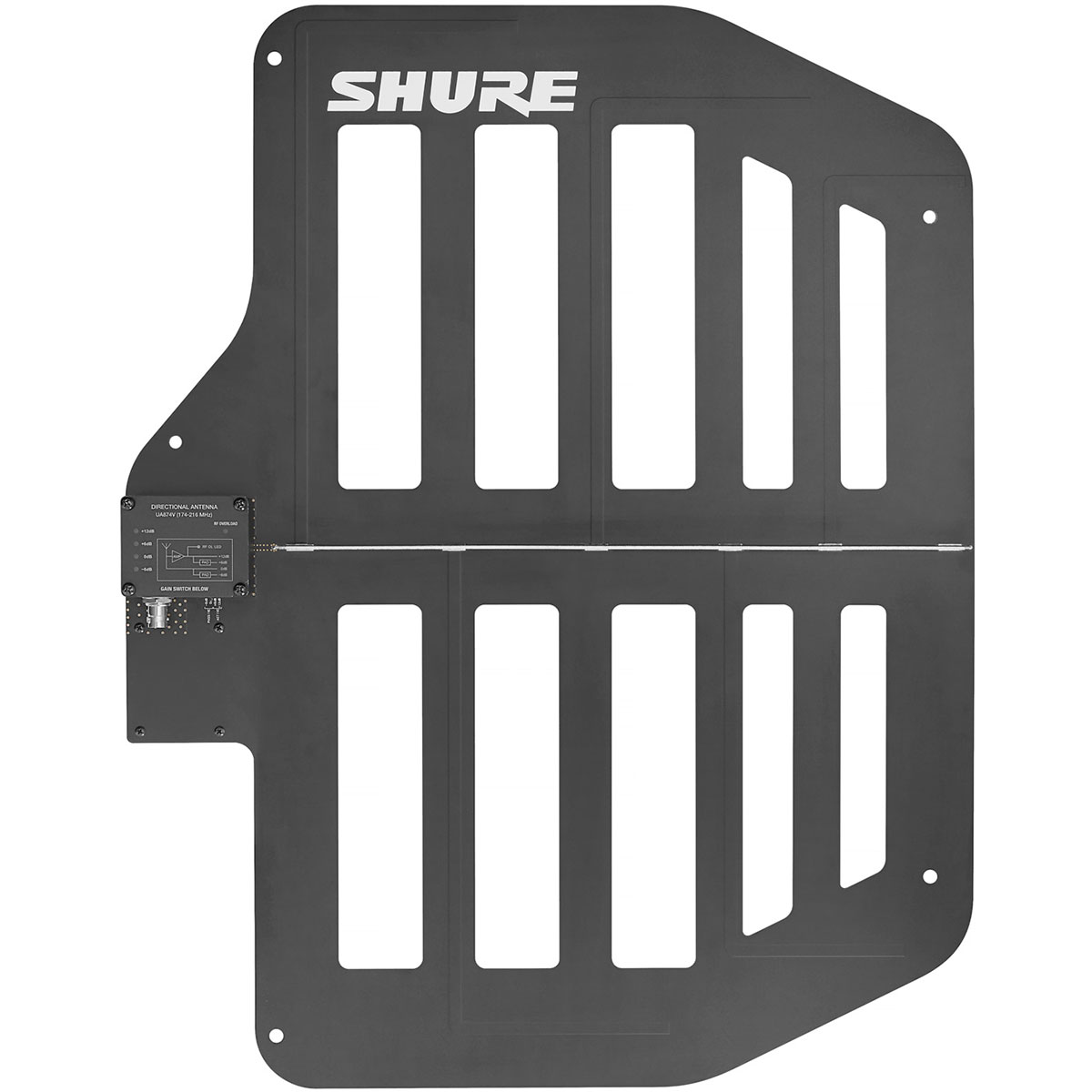 Shure Active Directional Antenna for QLX-D Wireless Systems (V50 Band)