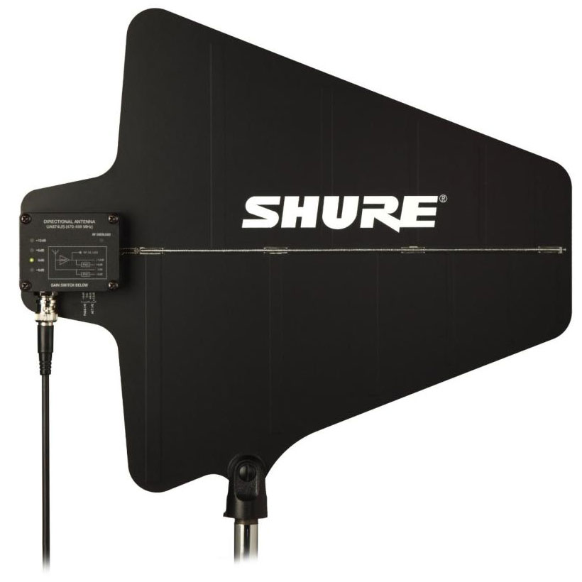 Shure Active Directional UHF Antenna with Integrated Amplifier (470-698 MHz)