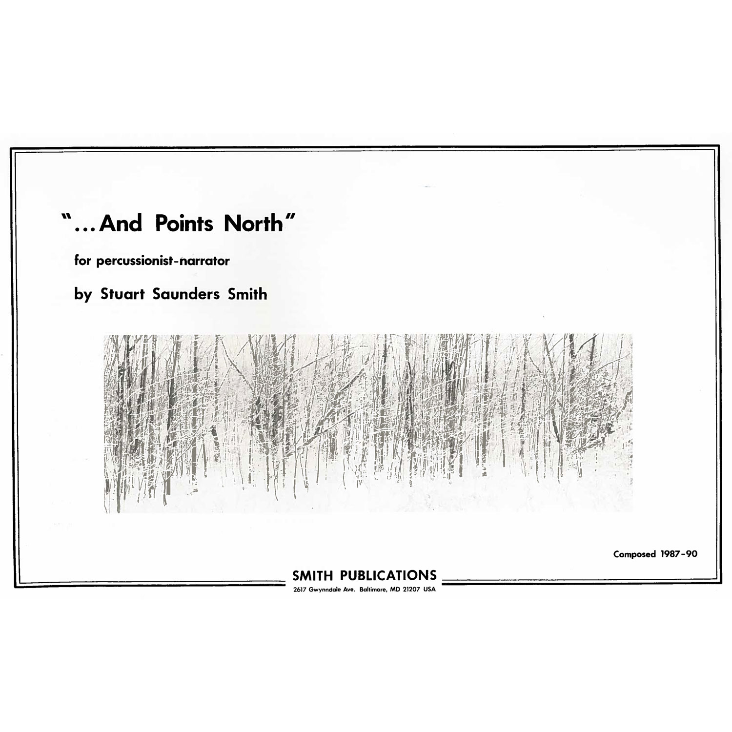 ...And Points North by Stuart Saunders Smith