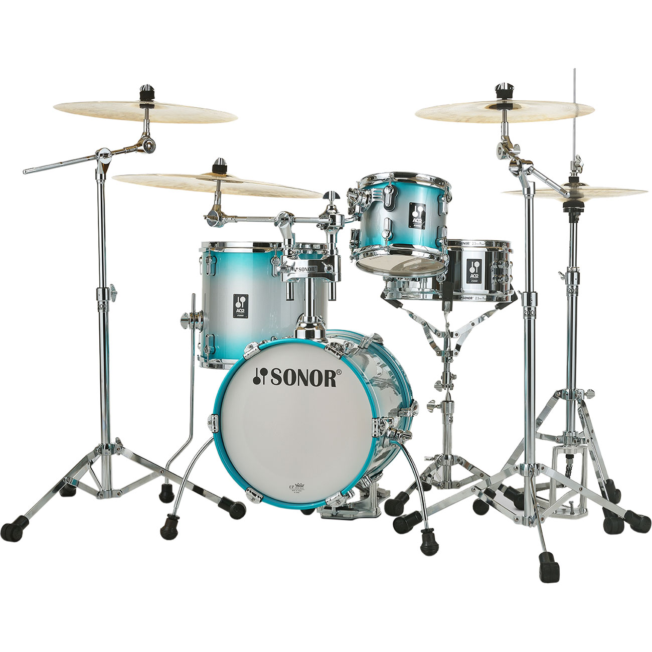"Sonor AQ2 Martini 4-Piece Drum Set Shell Pack (14"" Bass, 8/13"" Toms, 12"" Snare)"