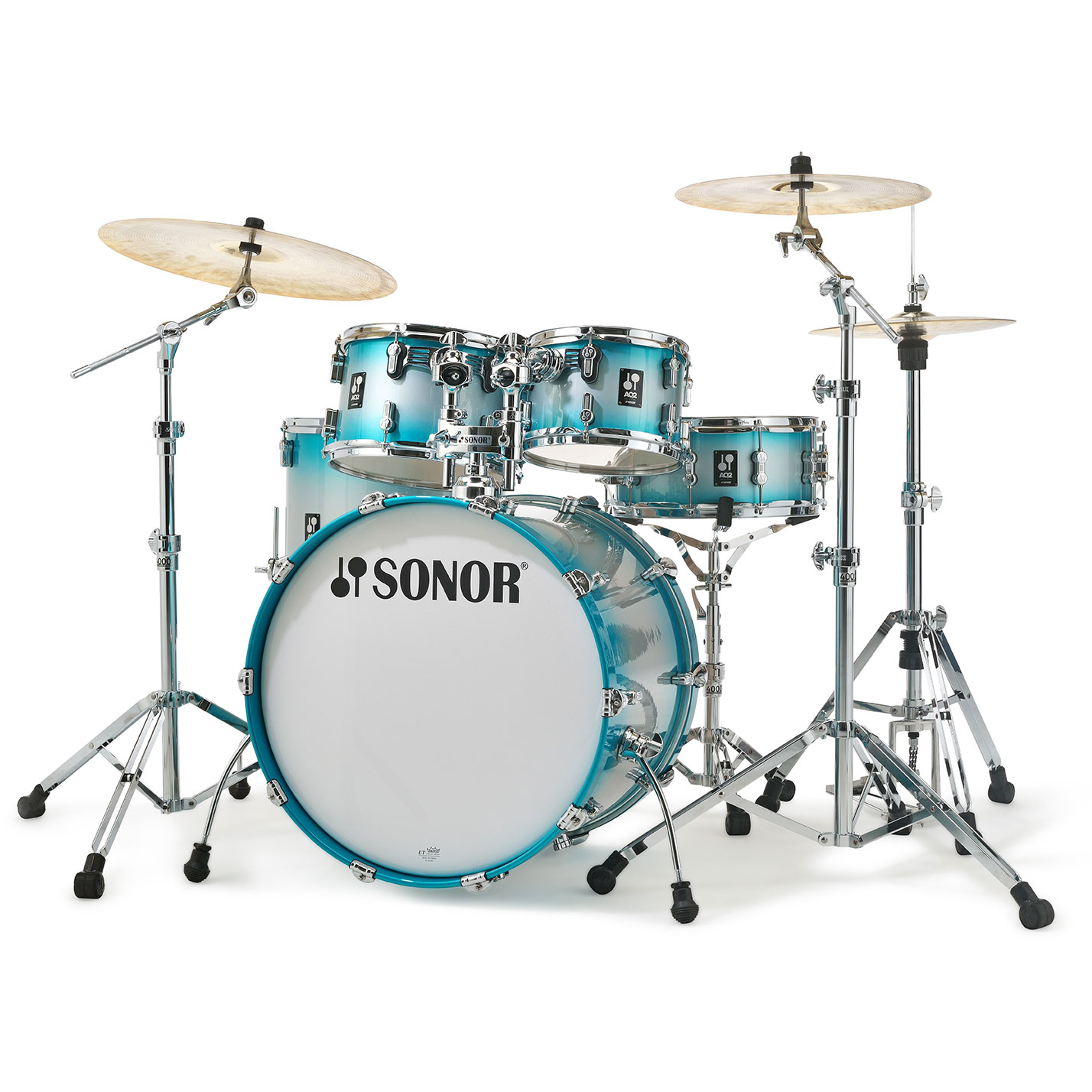 "Sonor AQ2 Stage 5-Piece Drum Set Shell Pack (22"" Bass, 10/12/16"" Toms, 14"" Snare)"