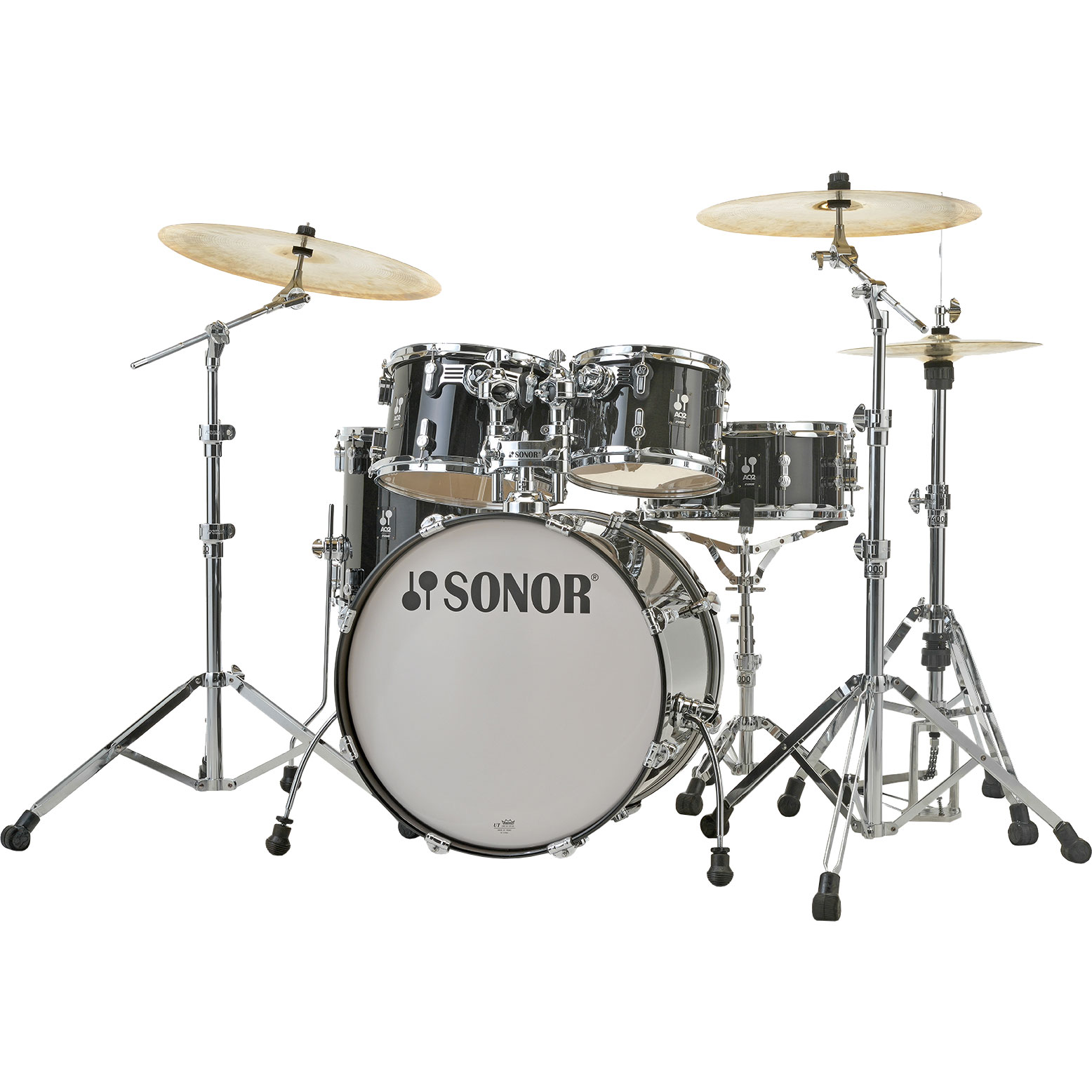 "Sonor AQ2 Studio 5-Piece Drum Set Shell Pack (20"" Bass, 10/12/14"" Toms, 14"" Snare)"