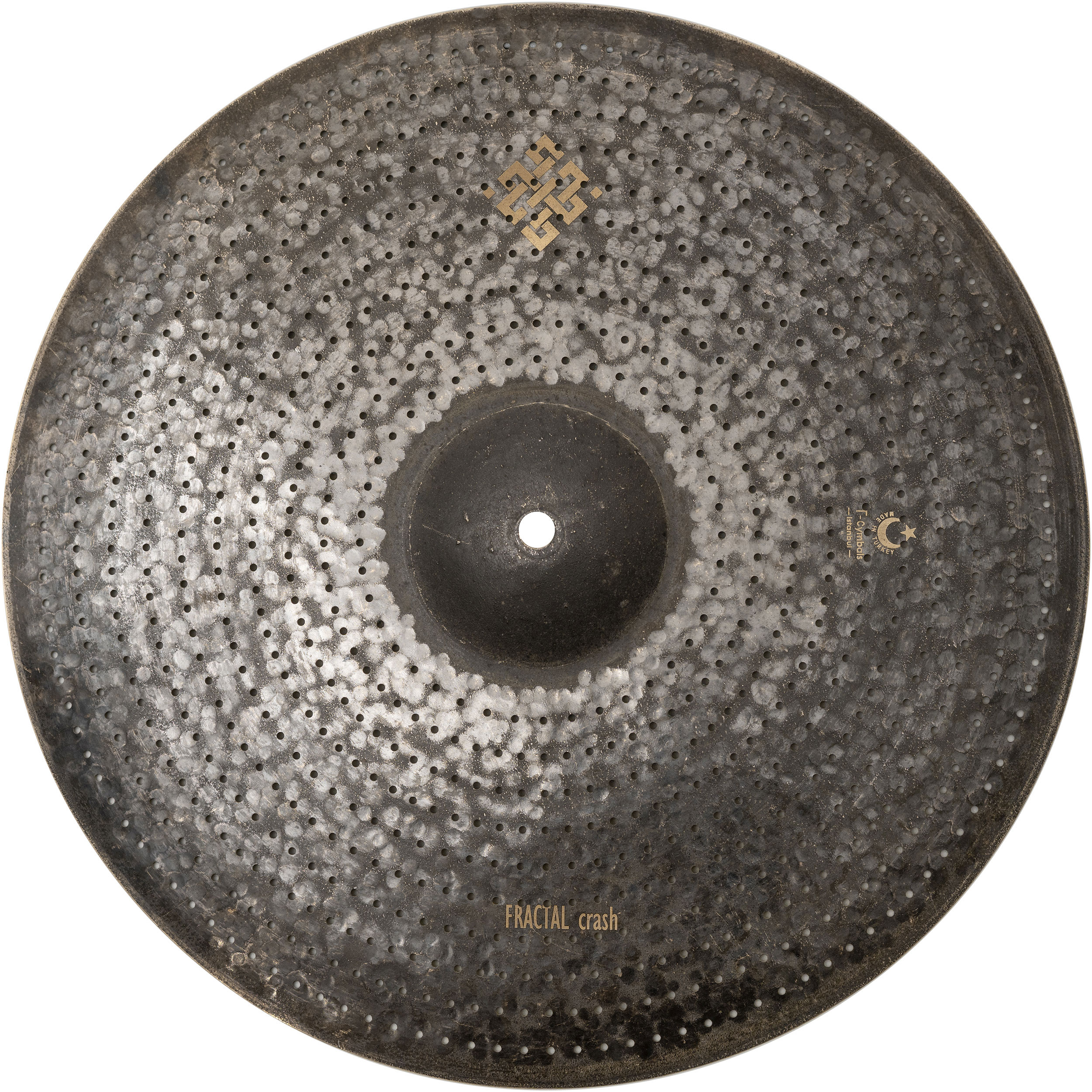 "T-Cymbals 17"" Air Fractal Crash Cymbal"