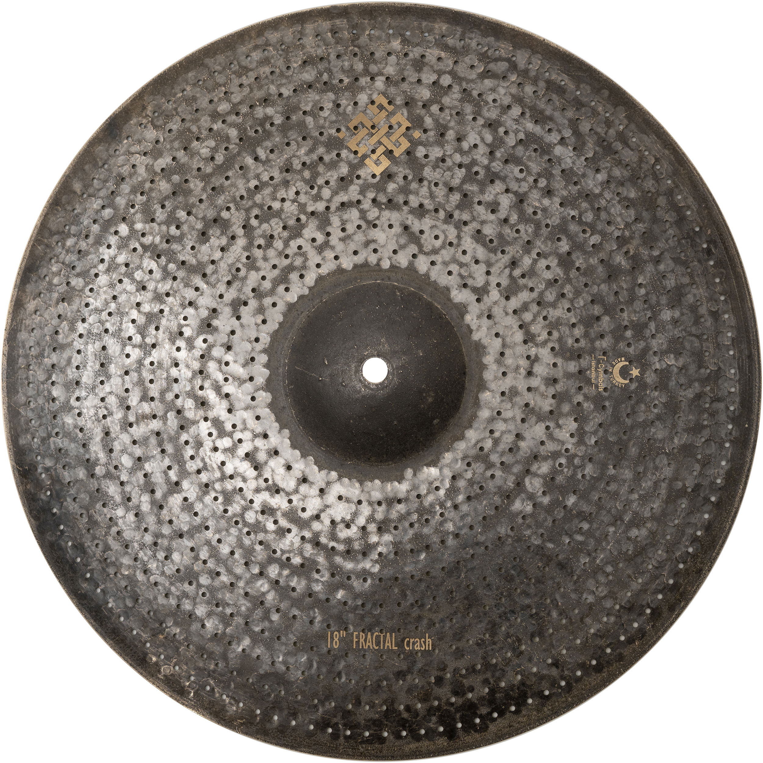 "T-Cymbals 18"" Air Fractal Crash Cymbal"